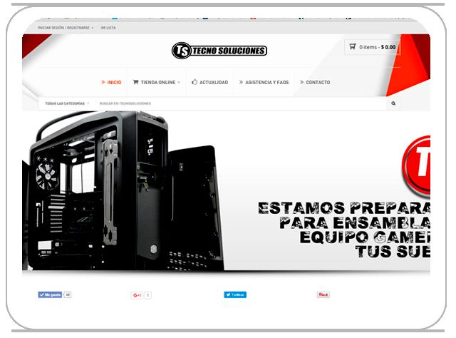 Tienda Online TecnoSoluciones